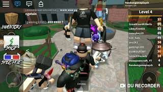 Want to make a video even in Bully:(| ROBLOX Murder Mystery 2