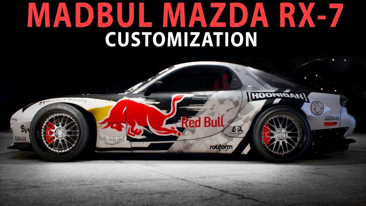Hoonigan Cars Wallpaper Nfs 2015 Madbul Mazda Rx 7 Speed Art Cinematic