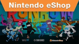 Nintendo eShop - Runbow Guest Character Reveal Trailer
