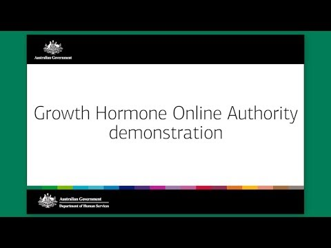 Growth Hormone Online Authority demonstration