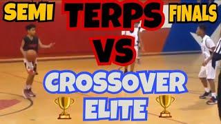 11/10/17 - Jr Terps vs Crossover Elite - Semi Finals - Coach Fritz - Marvin & Joel Guthrie