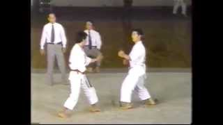 Tomio Imamura vs Masao Kagawa (1989) 32º JKA Championship.