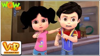 Vir The Robot Boy | Hindi Cartoon For Kids | The lady jinn | Animated Series| Wow Kidz
