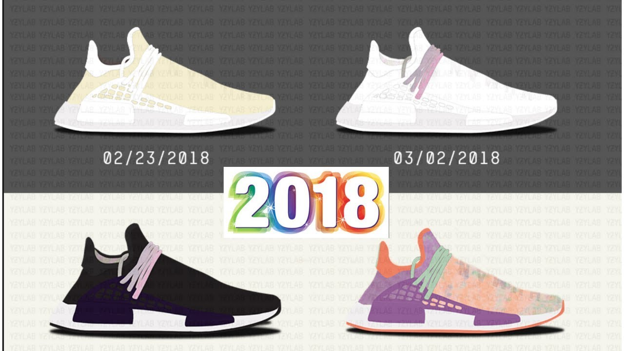 separation shoes 37ece 59918 NEW PHARRELL WILLIAMS HUMAN RACE TRAILS FOR EARLY 2018!!!MUST SEE RELEASE  INFORMATION