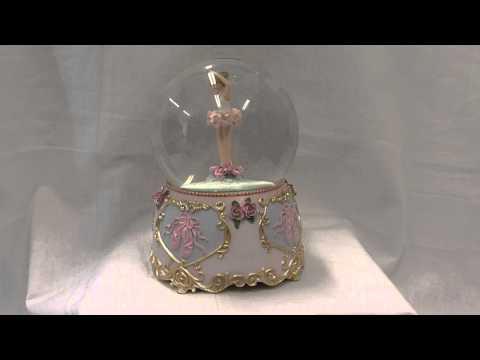 Water Globe Nails Musical Ballerina Water Globe