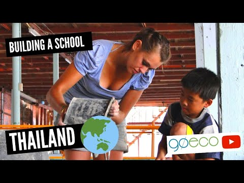 GoEco VOLUNTEER Trip Vlog – Building a School in Thailand