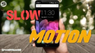 Capture Slow Motion Videos On Andriod