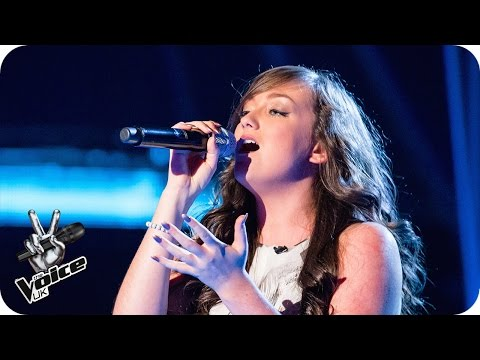 Olivia Kate Davies performs 'Don't Be So Hard On Yourself' - The Voice UK 2016: Blind Auditions 3