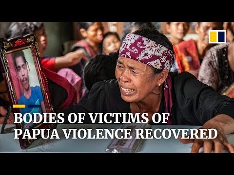 Bodies recovered following separatist violence in Indonesia's Papua province