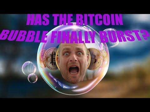 Has the Bitcoin Bubble Burst?