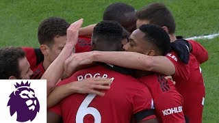 Paul Pogba smashes shot from tight angle for Man United v. Fulham | Premier League | NBC Sports