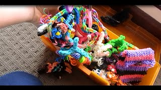 All Of My Rainbow Loom Charms!