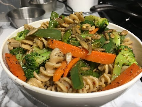 Stir-Fried Vegetable Pasta Recipe | Whole Wheat Pasta | Fav Dinner Recipe|