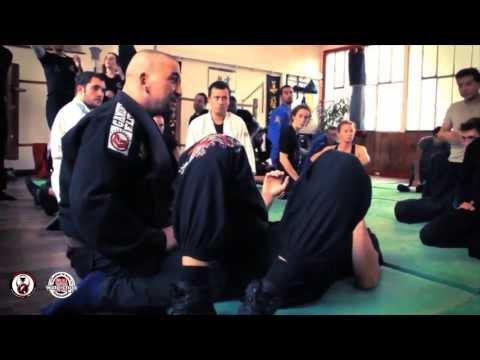 Sifu Mohamed Targuisti // Stage BJJ - Technique 1 - Passage de Garde Assis