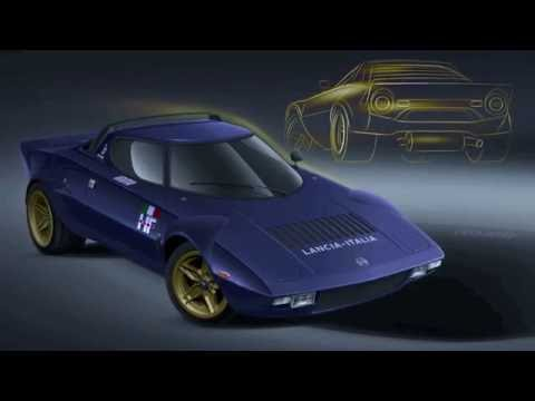 Lancia Stratos Project Lister Bell First Start Roll Out
