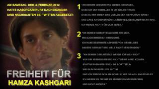 Freiheit für Hamza Kashgari
