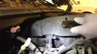 How to repair a broken heater hose connector on a 2000-2007 GM product