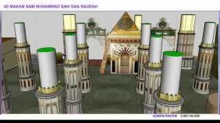 3D Makam Nabi Muhammad saw dan RAUDAH  Versi 1 0