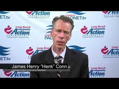 "James Henry ""Henk"" Conn - Mayoral Candidate - 2018 Long Beach Primary"
