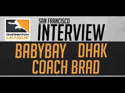 San Francisco Overwatch Team Interview w/ Brad, Dhak and BabyBay