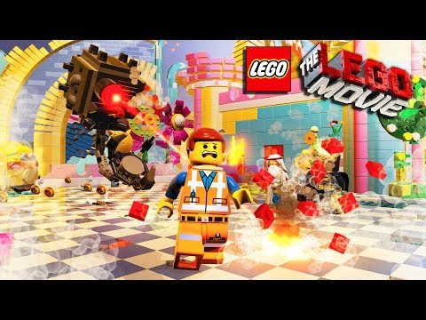 Escape from Evil LEGO ROBOTS & Saving THE WORLD   The Lego Movie Videogame Gameplay