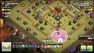 TH10 new attack strategy. ( queen walk + bowler + witch )
