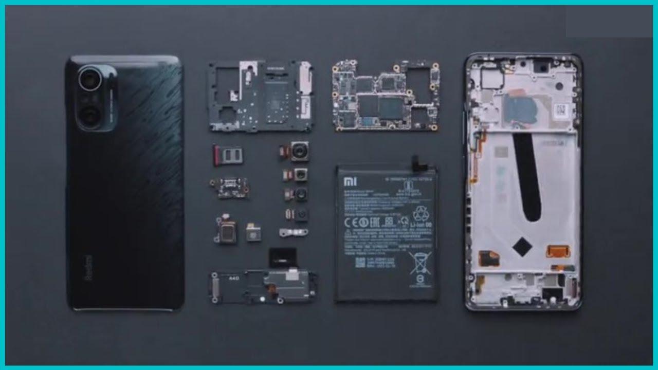 Xiaomi Redmi K40 Pro Official Teardown Video - YouTube