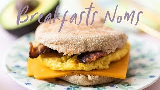 3 WOW BREAKFAST Sandwiches for Back to School | HONEYSUCKLE