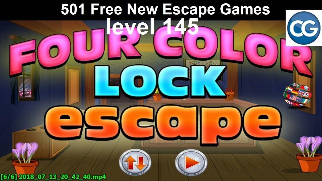 Walkthrough 501 Free New Escape Games Level 145 Four