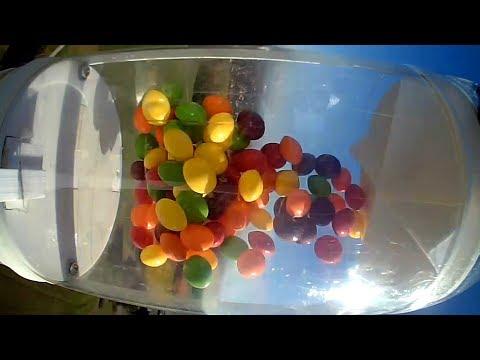 Skittles in Microgravity