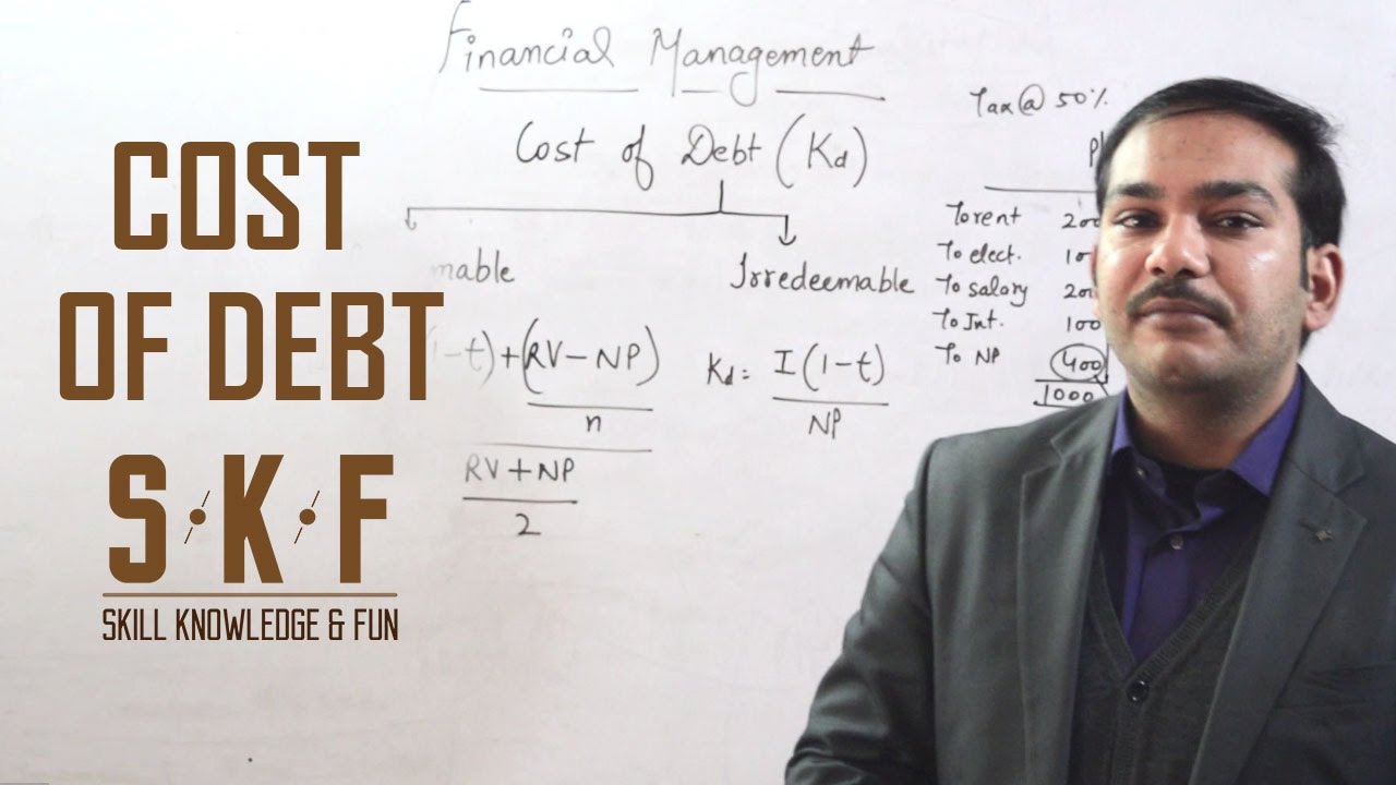 Cost of Debt - YouTube
