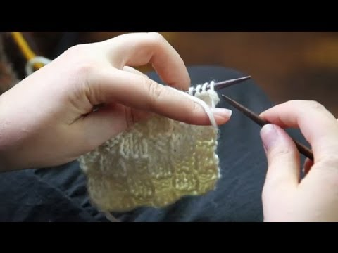 How Do You Knit A Checkerboard Scarf Knitting Tips Youtube