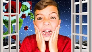 HOME ALONE | Grinch tries to BREAK IN!