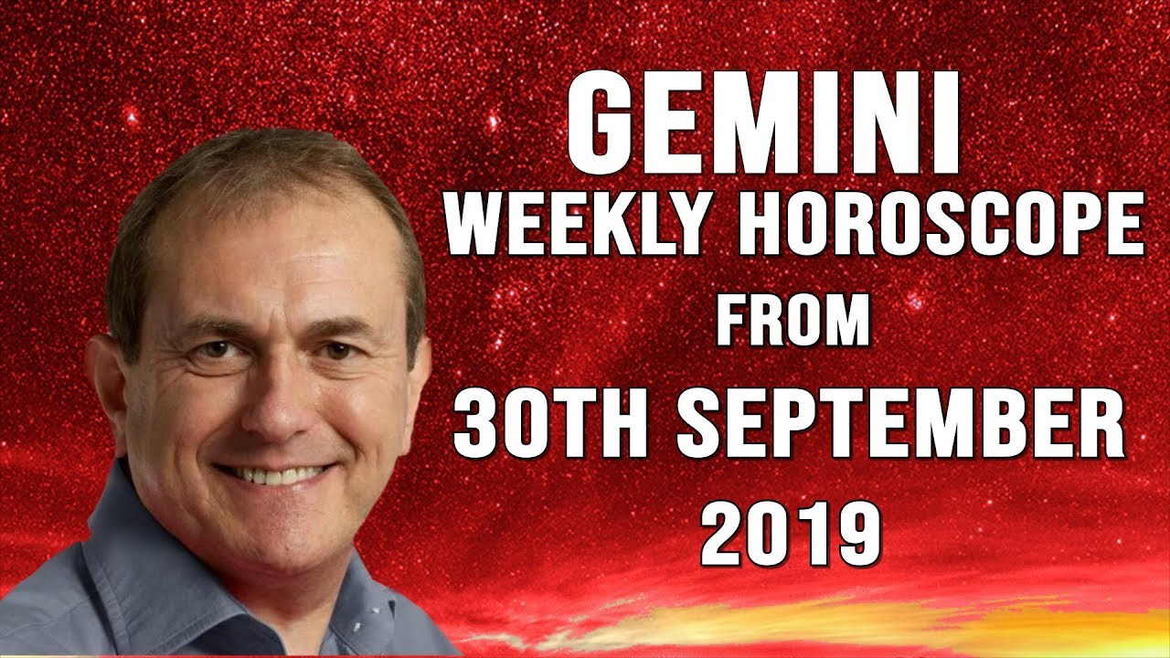 Weekly Horoscopes from 30th September 2019