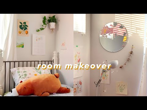 ROOM MAKEOVER/TRANSFORMATION + BRIEF ROOM TOUR 2019 // alsosummer
