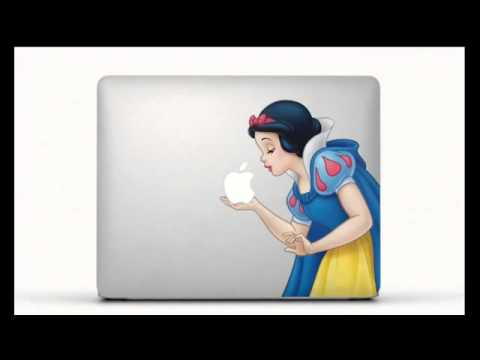 Apple macbook air tv commercial stickers song by hudson mohawke
