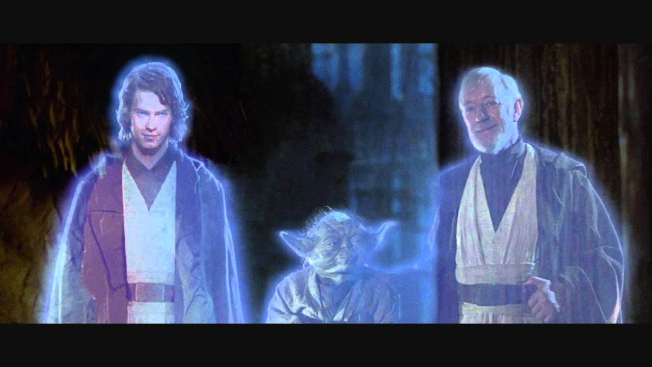 return of the jedi original ending