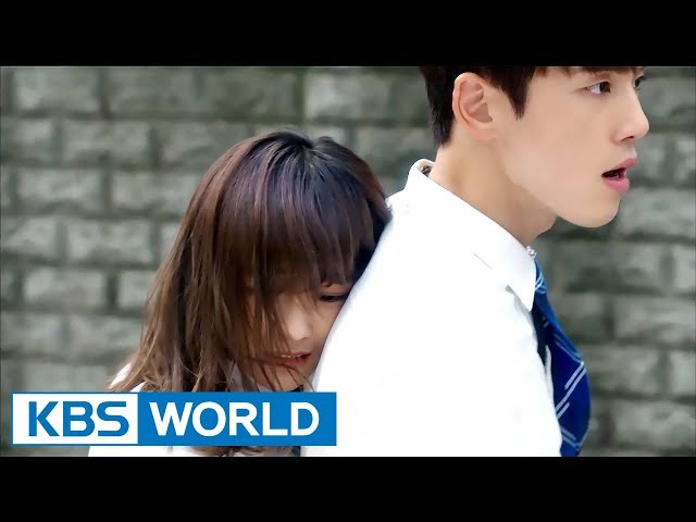 [1Click Scene] Kim Sejeong gives Kim Junghyun a Back hug! (School 2017 Ep.9)