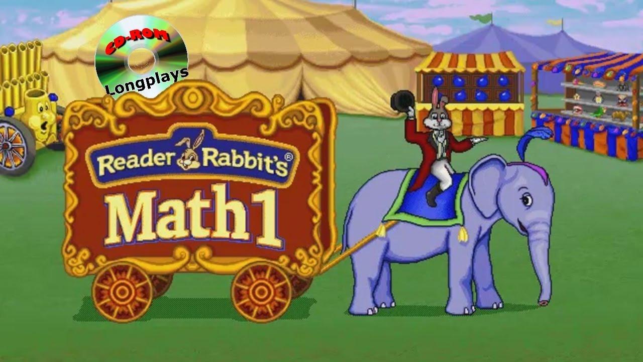 Reader Rabbit's Math 1 (CD-ROM Longplay #8) - YouTube