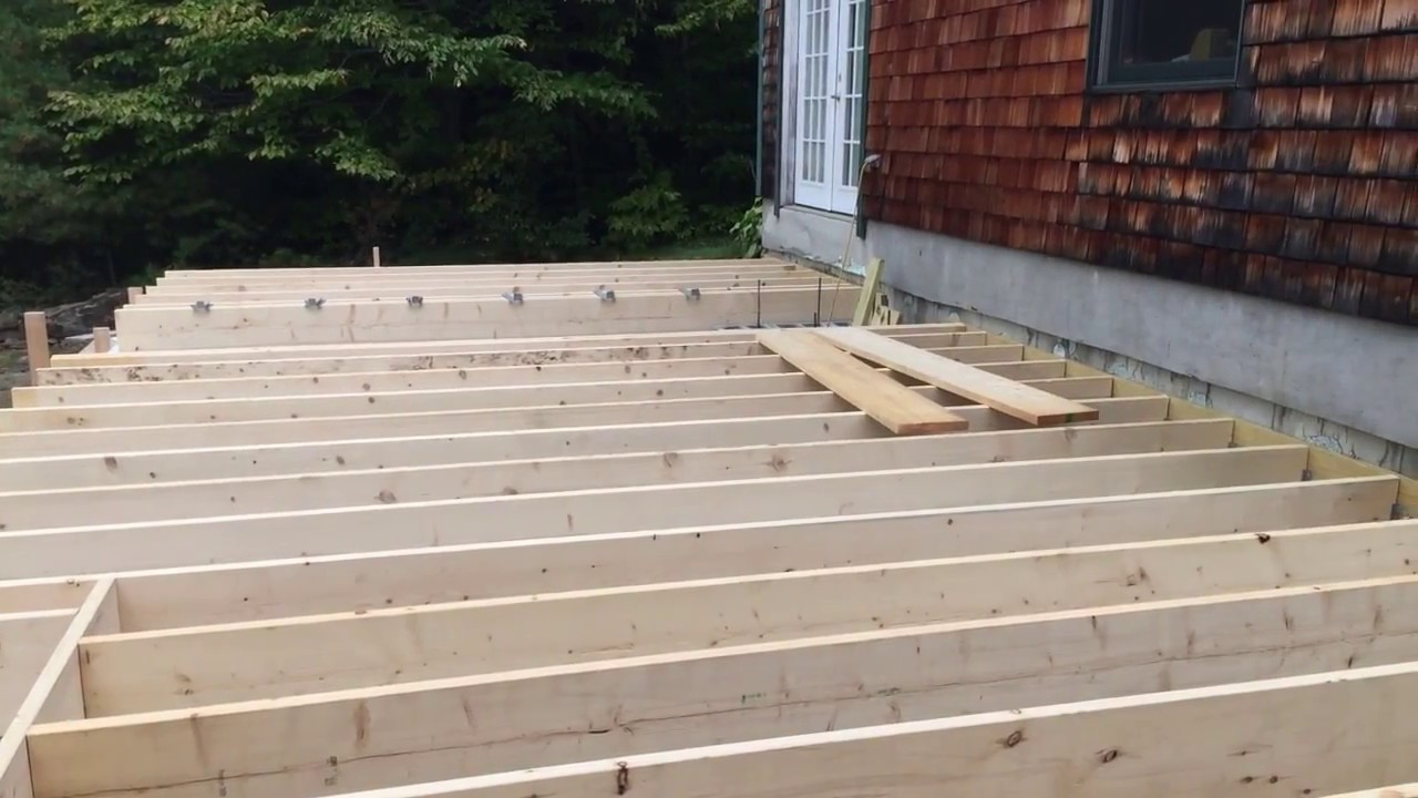 Floor Joists And Rim Joist Layout Addition Build Youtube
