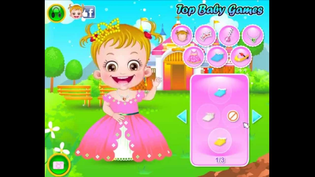 baby 8bob games hazel Baby Games Dressup HD Hazel New  YouTube Movie Princess