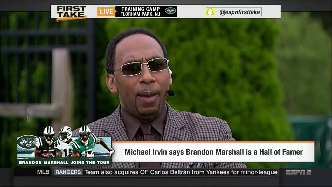 the latest fc203 a2196 1080P ᴴᴰ ESPN FIRST TAKE 8-8-2016 BRANDON MARSHALL BETS HIS PORSCHE 911  WITH ANTONIO BROWN
