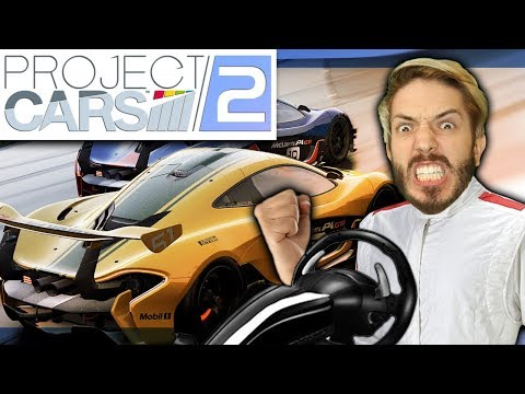 Racing with WHEELS! | Project Cars 2