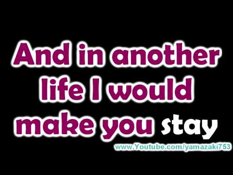 Katy Perry - The one that got away - Karaoke