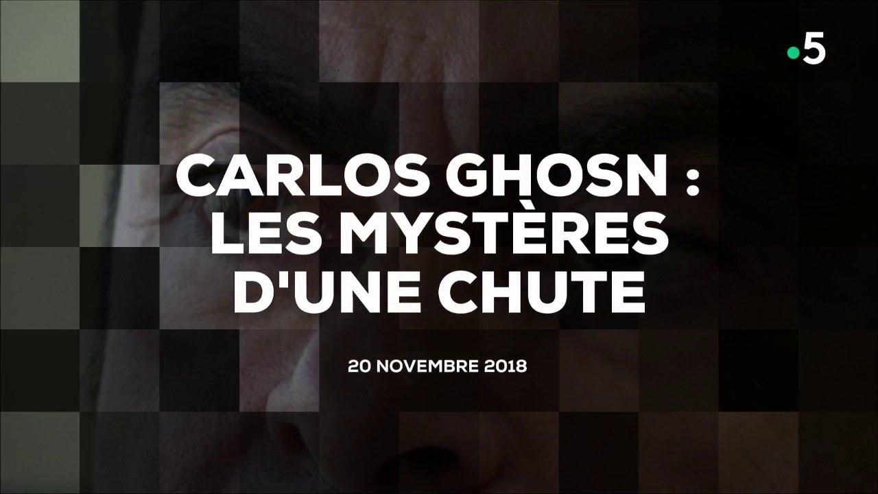 Carlos Ghosn : les mystères d'une chute #cdanslair 20.11.2018