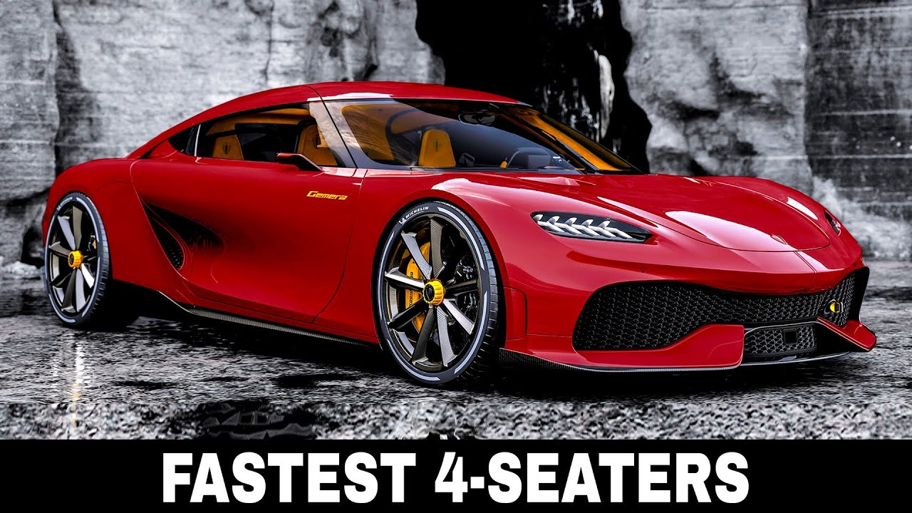 10 Fastest Sports Cars With 4 Seat Convenience And Unmatched Speed Parameters Youtube