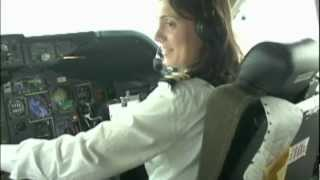 Paola lands Boeing 747 at Almaty!