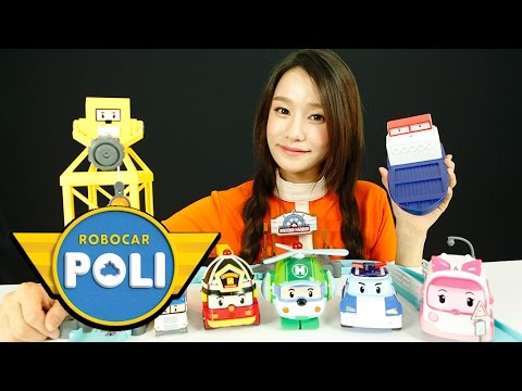 Terry's harbor Playset | Robocar Poli Toys | Carrie & Toys
