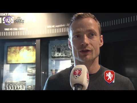 Jiří Jarošík se těší na EURO WU17