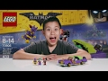 the joker notorious lowrider   the lego batman movie set 70906 time lapse unboxing review